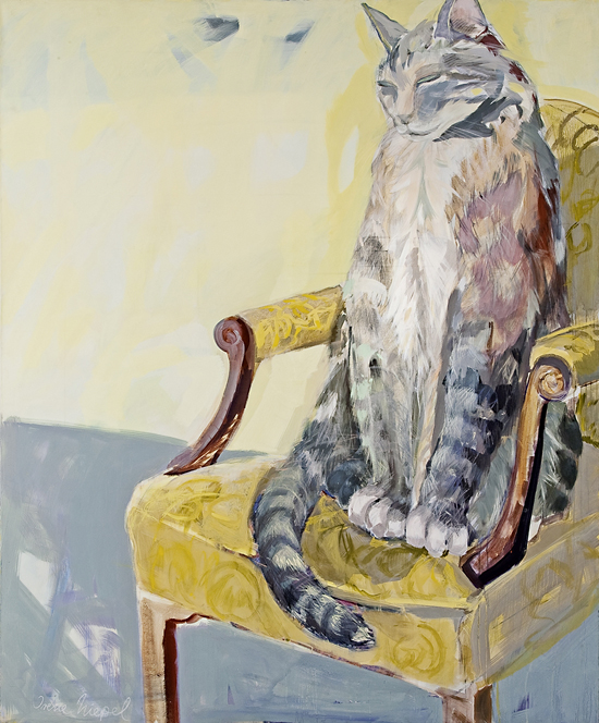 Huge Cat, 230 x 180 cm, acryl / canvas